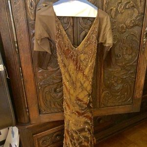 Sue Wong Nocturne beaded gown. glamorous. Size 6.